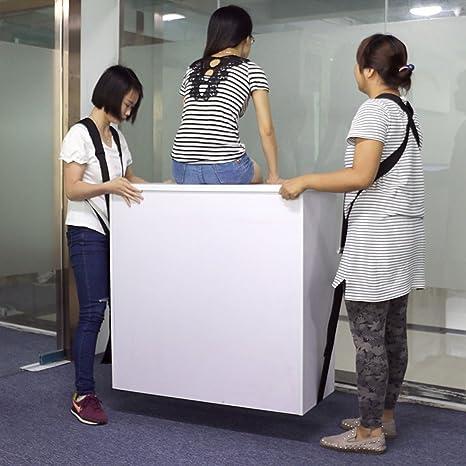 jbonest levantar y mover correas, 2 persona hombro movimiento sistema de arnés para levantamiento muebles: Amazon.es: Hogar