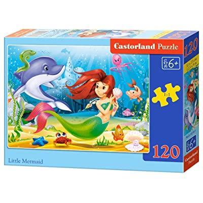 Castorland B-13210-1 - Puzzle - Petit Sirène - 120 Pièces