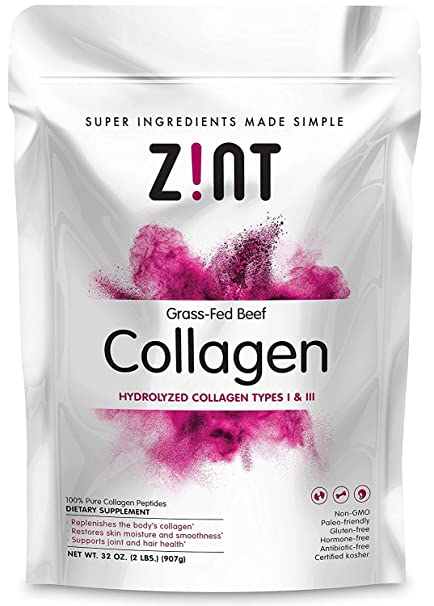 Collagen Hydrolysate 2 Lb. By Zint: Amazon.es: Salud y cuidado personal