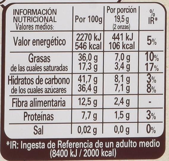 Nestlé - Las Recetas De La Chocolatería - Chocolate Negro con Arándanos Azules, Almendras y Avellanas - 195 g: Amazon.es: Alimentación y bebidas