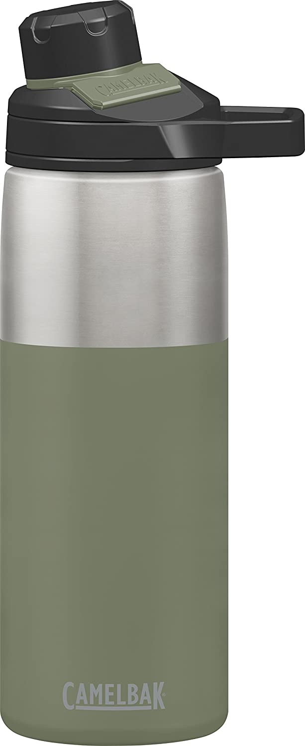 CamelBak Chute Mag Vacuum-Insulated Stainless Water Bottle, 20oz Cardinal 20 oz CamelBak Products LLC 1515601060