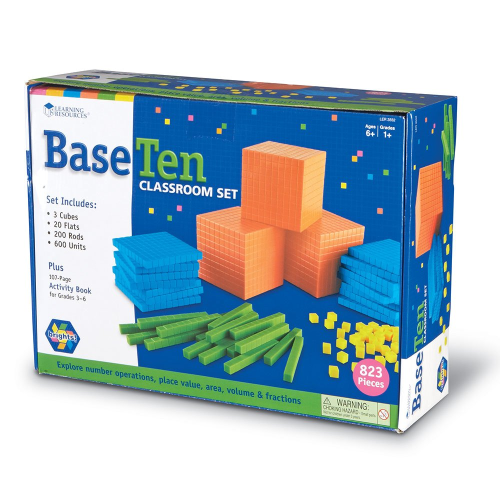 Learning Resources Brights Base Ten Classroom Set
