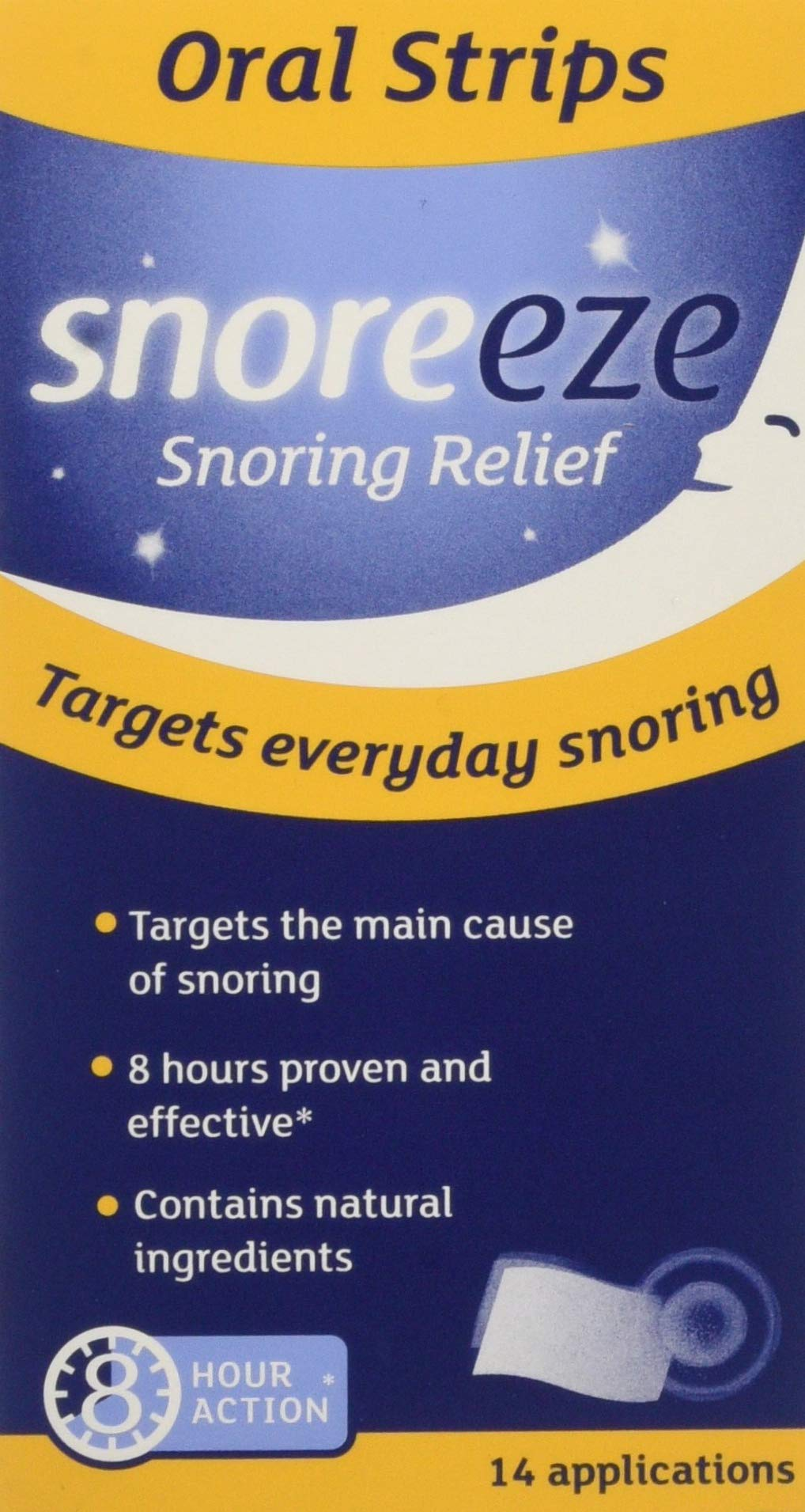 Snoreeze Oral Strips Buy Online In Solomon Islands Snoreeze