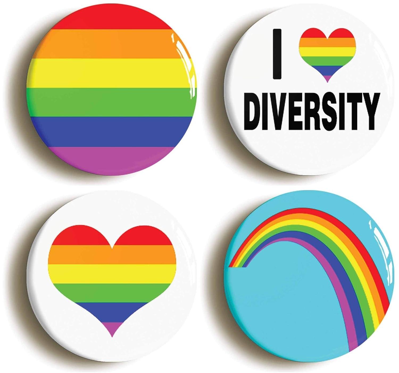 【ギフ_包装】 多様性LGBT Gay 多様性LGBT Gay Prideボタンピンセット(サイズは1インチ直径 B01H38MN2O, レフォルモ:df8a1a1d --- arianechie.dominiotemporario.com