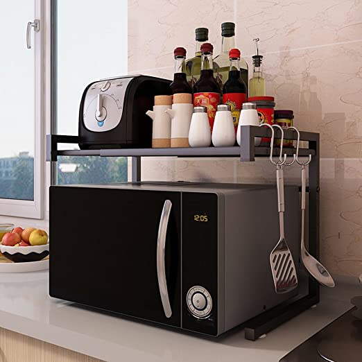 Anyer - Estante de horno para microondas, multifuncional, estante ...