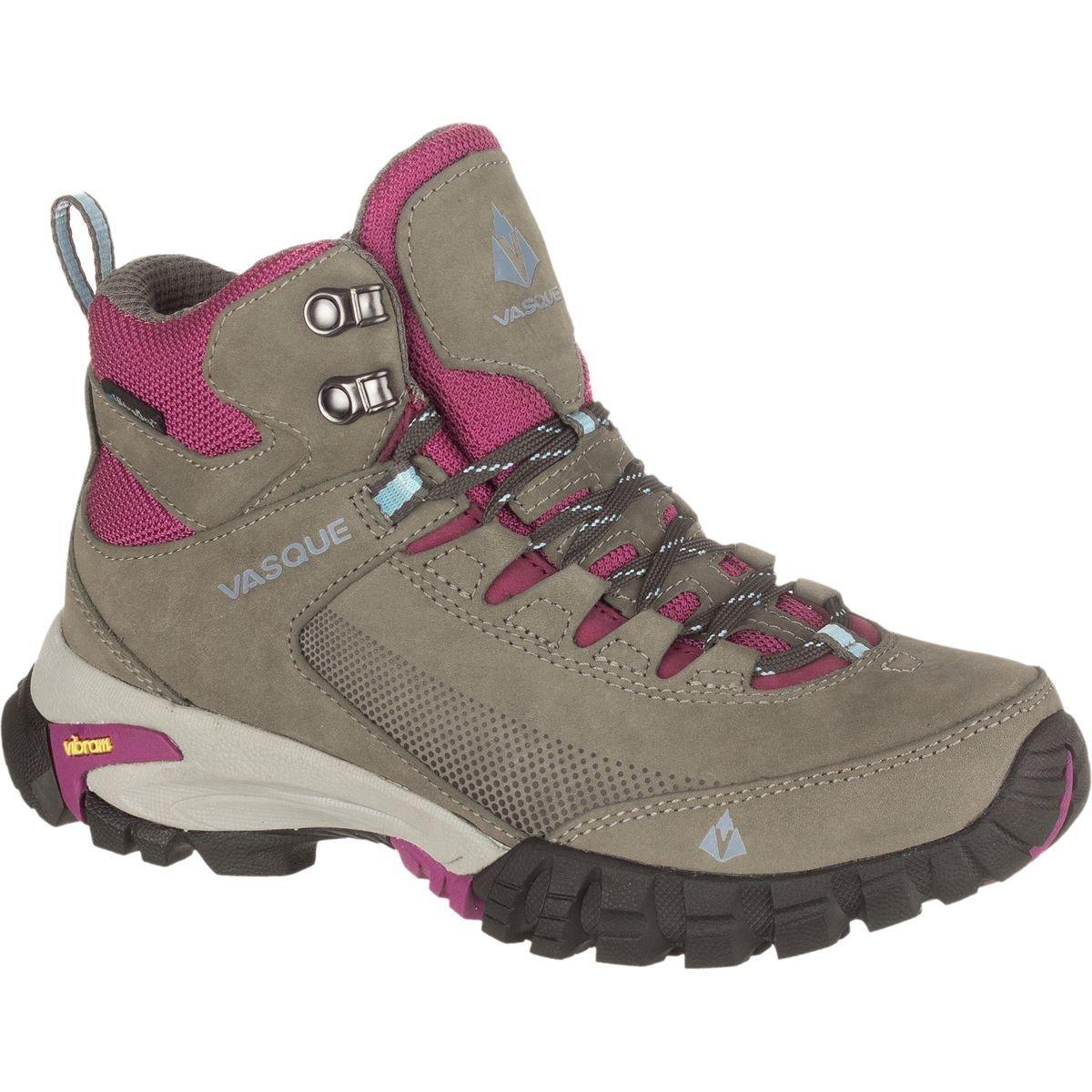 Vasque Women's Talus Trek UltraDry Hiking Boot, Gargoyle/Damson, 11 M US by Vasque