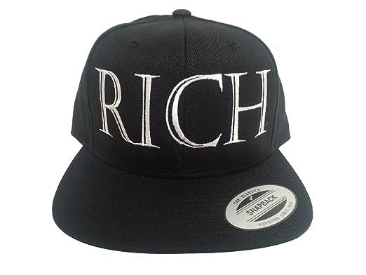 Vintage Rich Snapback Hat at Amazon Men s Clothing store  Baseball Caps 166640a6d9bb