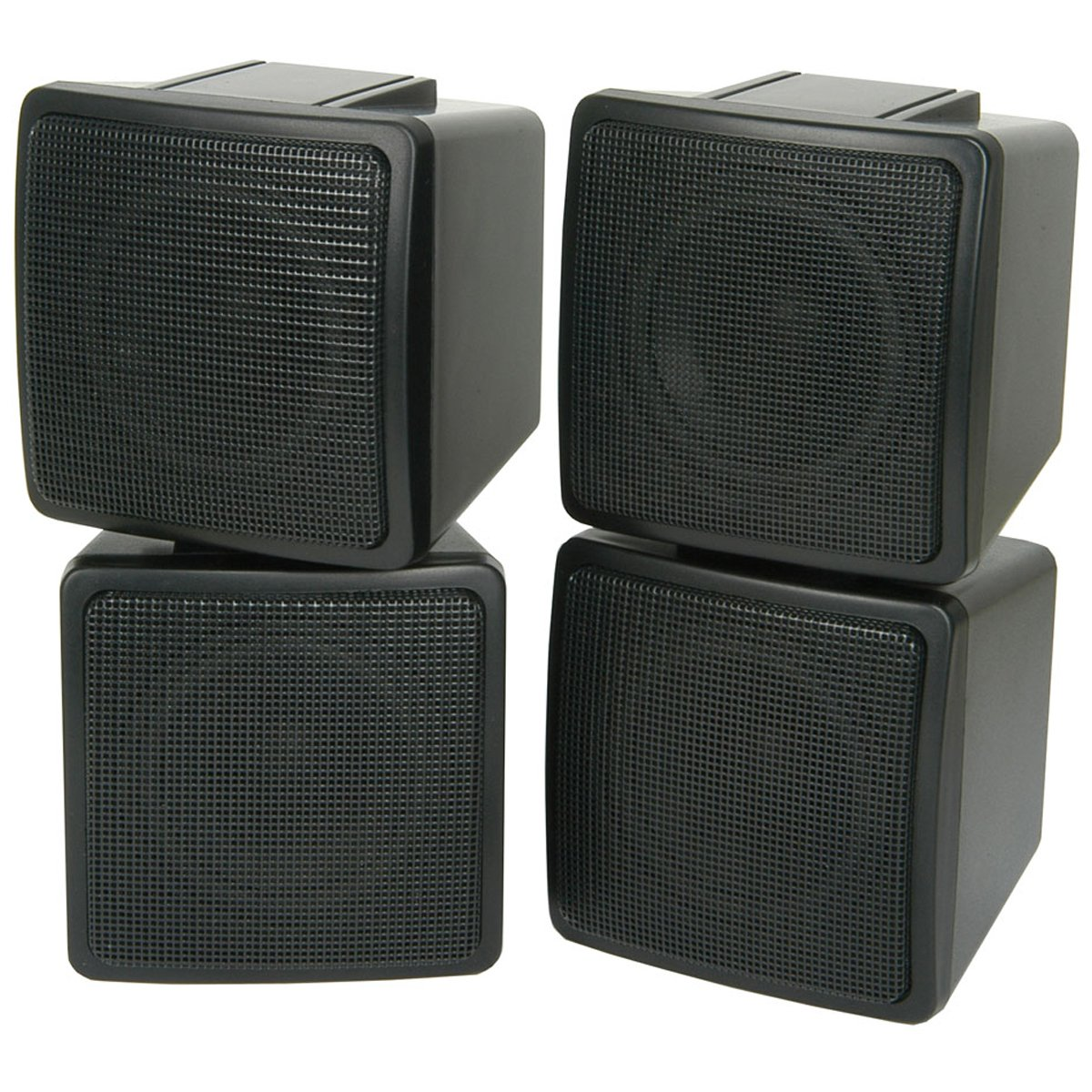 Amazon Com Pair Satellite Speakers 100w 8ohm Wall