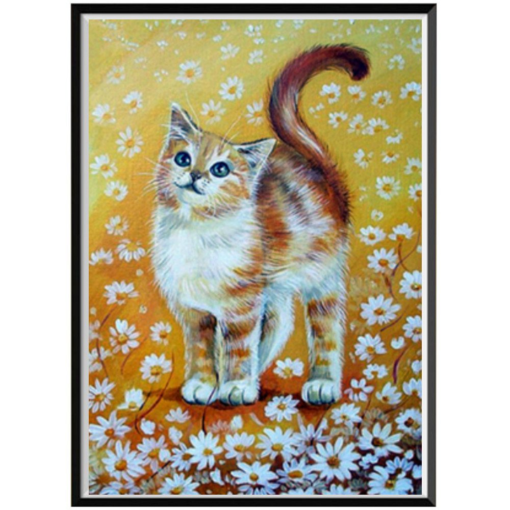 5D Diamond Painting Kit Full Drill,Fanyunhan DIY 5D Diamond Paint by Number Kits Embroidery Rhinestone Pasted Wall Decor