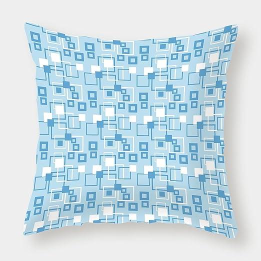Funda de cojín de Lino y algodón, diseño de Mandala en ...