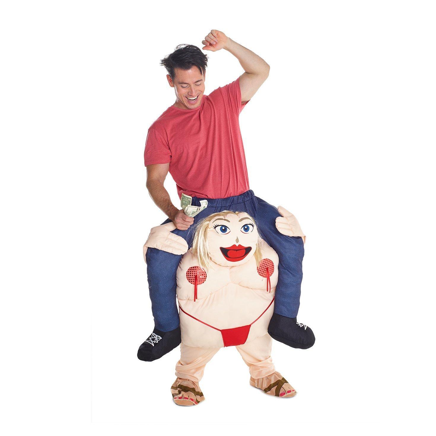 /Trucs avec vos propres Pieds Officiel Unisexe Power Ranger Rouge Fancy Dress Costume Piggyback/