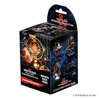 WizKids D&D Icons of The Realms: Volo & Mordenkainen'S Foes Booster: Toys & Games