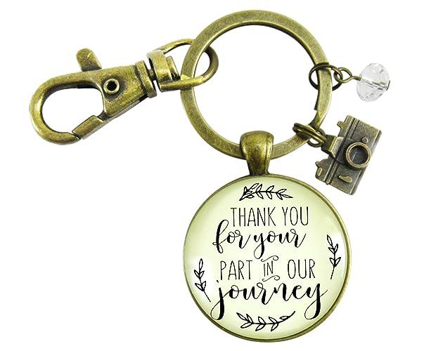 Amazon Wedding Photographer Gift Keychain Thank You For Your