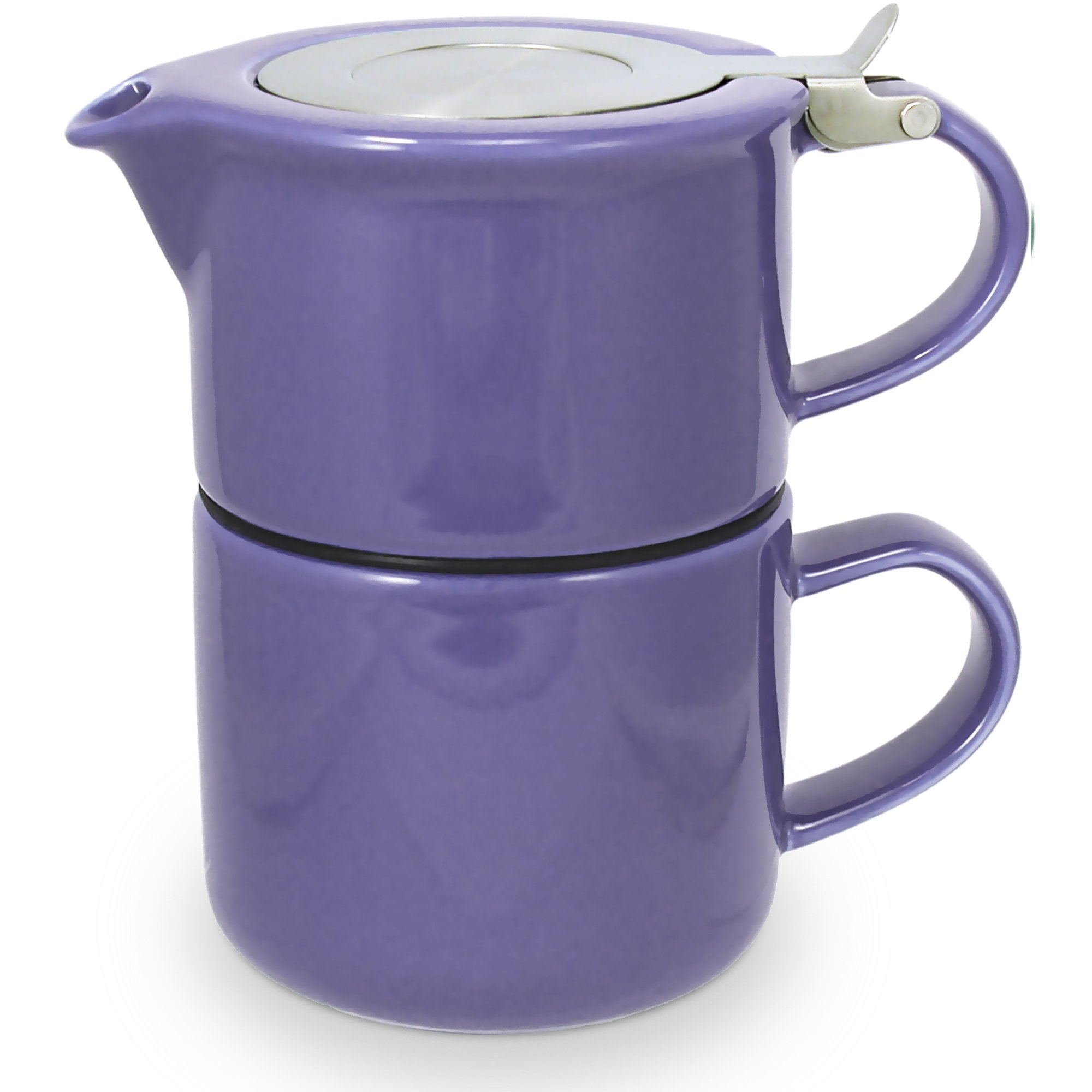 FORLIFE Tea for One Teapot with Infuser 14 oz, Purple