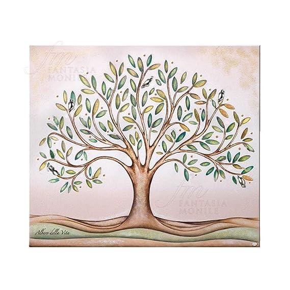 Marco Árbol de la vida plata tamaño 33 x 25 regalo boda Acca QD.96 ...