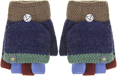 navy hot pink Baby toddler magic knitted gloves Available in 6 colours; black