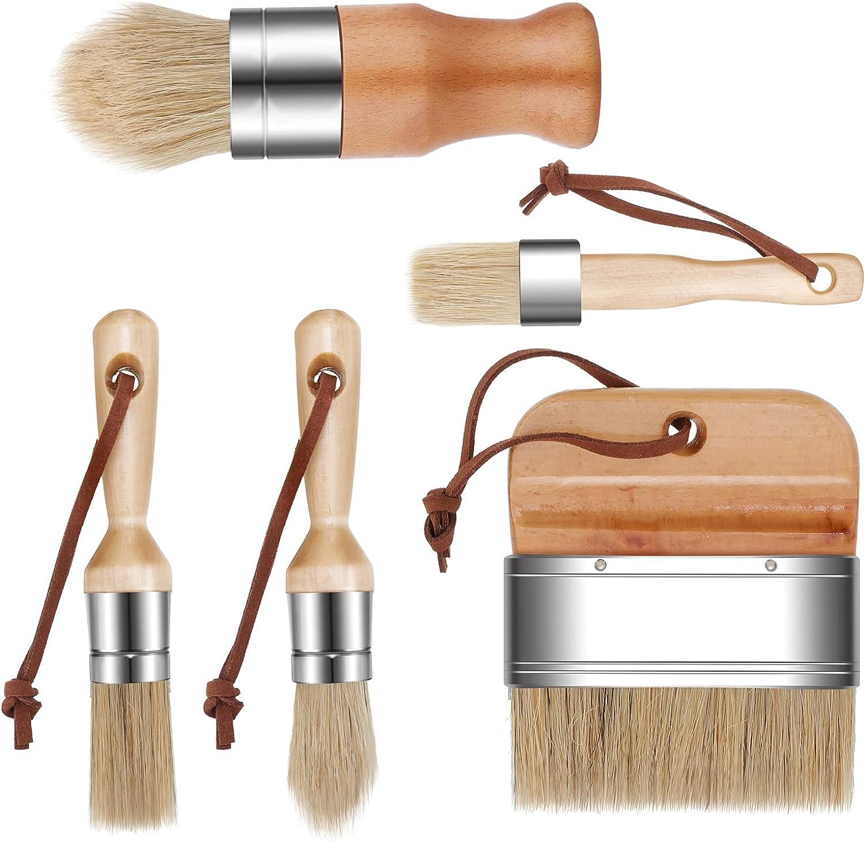 Paint Brush Wall Painting Coconut Coir Bristle Furniture Chalk Oil Wax Multiuse