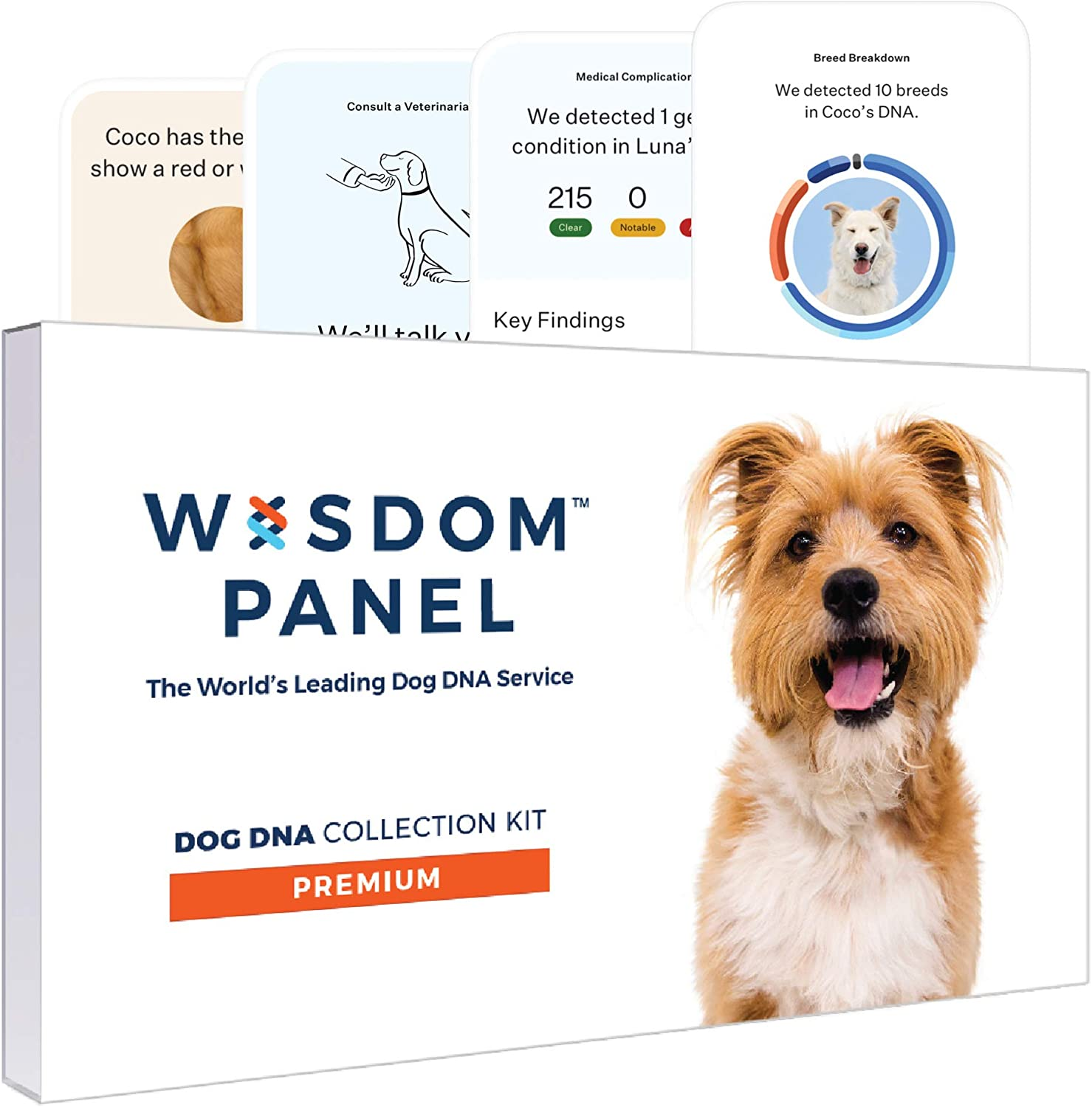 Wisdom Panel Premium Dog DNA Test Kit