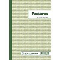 Exacompta 21916 Bloc 148 x 210mm Papier Assorties