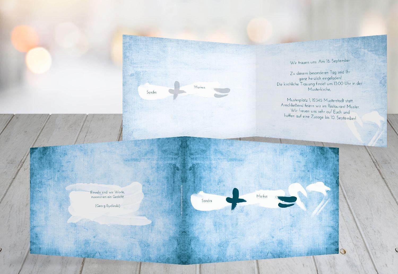 Kartenparadies Hochzeitskarte Hochzeit Einladung Du  Ich  Liebe, hochwertige Einladung zur Heirat inklusive Umschläge   10 Karten - (Format  148x105 mm) Farbe  DunkelGelb B01NBWPBDB   Die Qualität Und Die Verbraucher Zunächst    Spielen Sie Leidensc