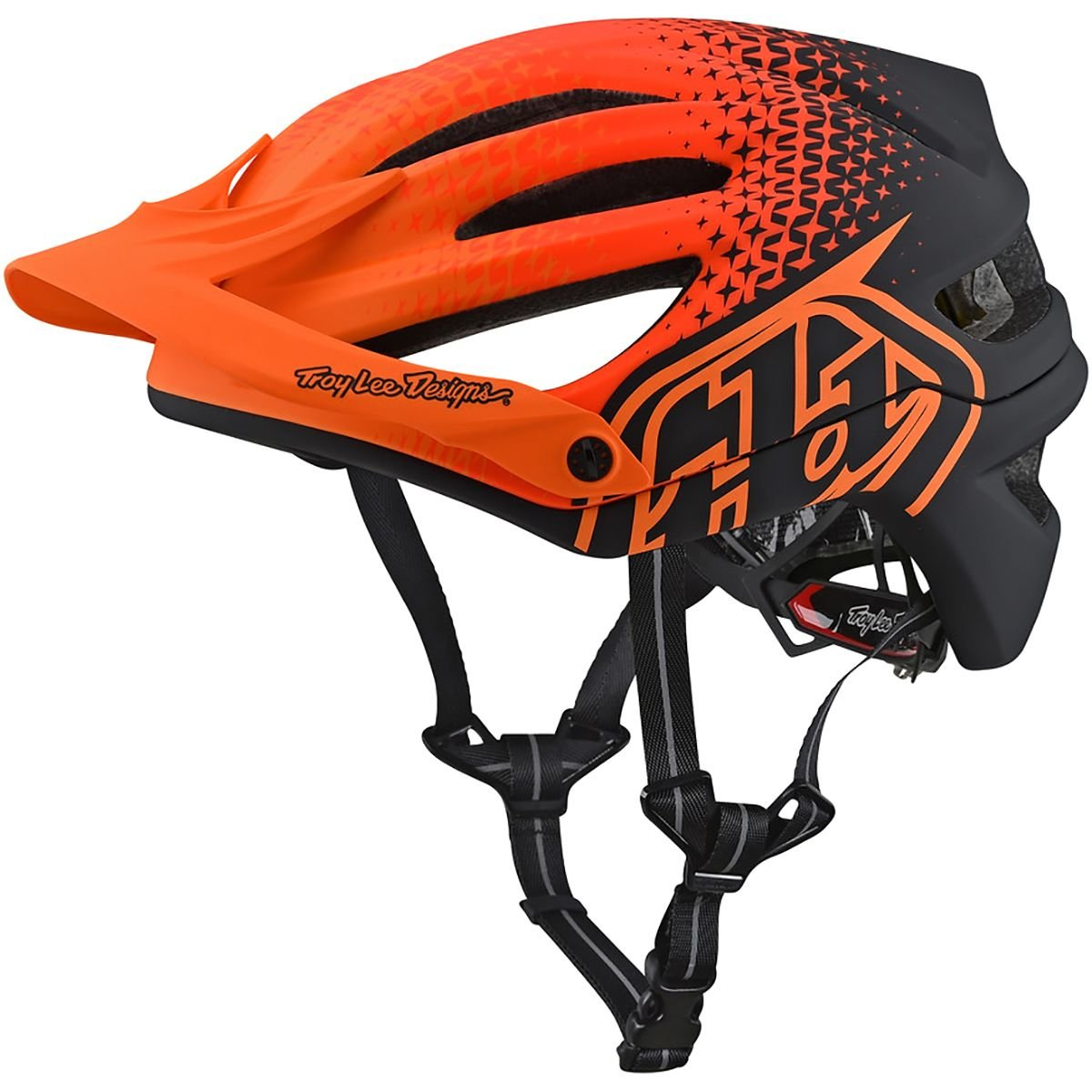 Troy Lee Designs MTB Helm 2018 A2 Starburst MIPS Starburst Honey