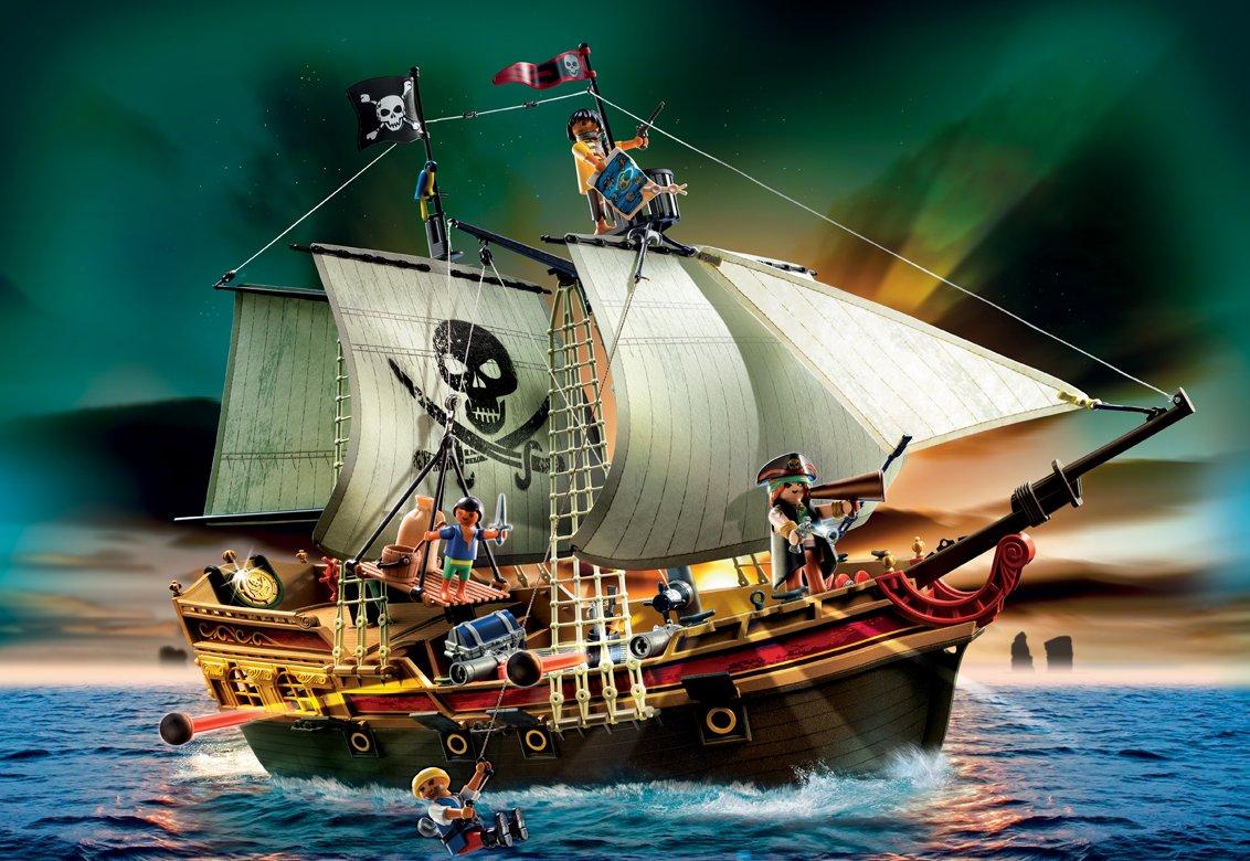 bateau d'attaque des pirates playmobil