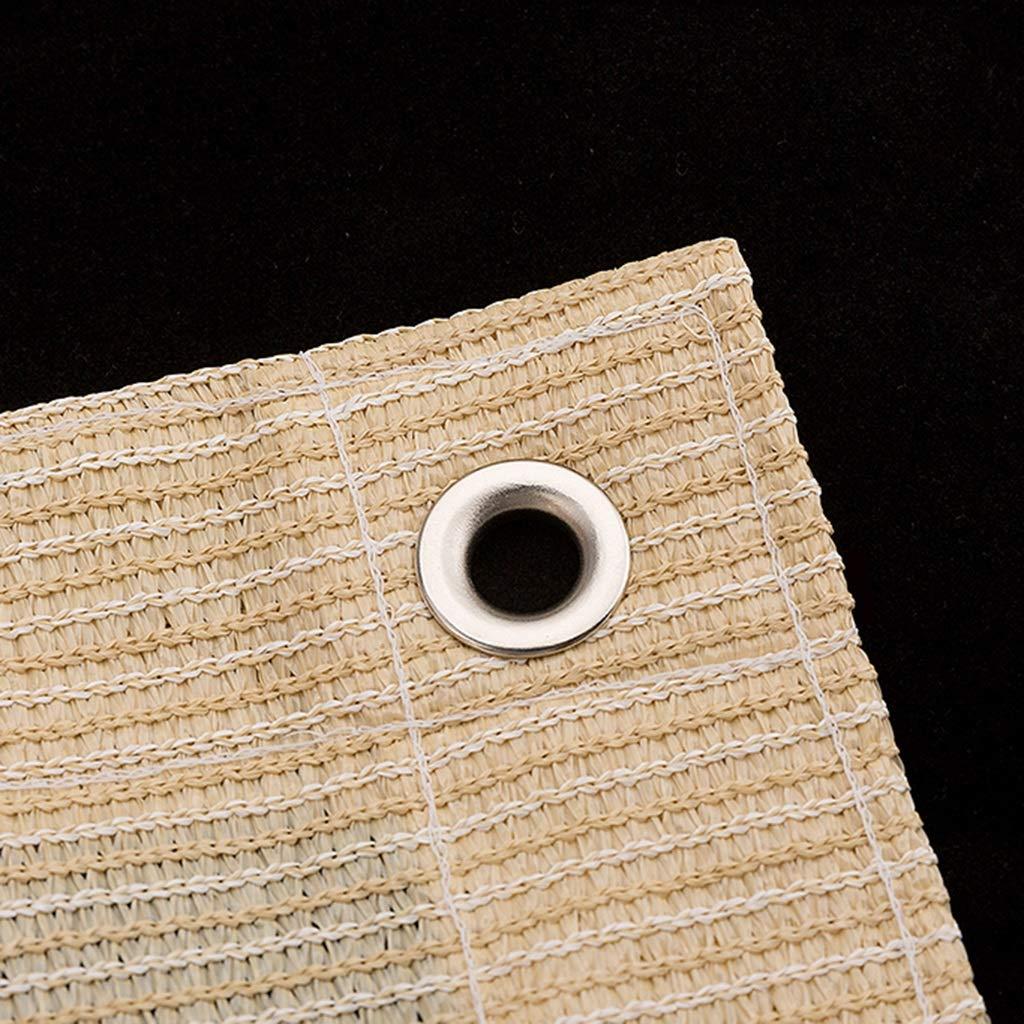 Tenda Xiuyun Xiuyun Xiuyun Rete per l'ispessimento all'aperto a Rete in polietilene (Coloreee   Giallo terroso, Dimensioni   4M×4M) B07HHW2K69 4M×4M Giallo terroso | Il Più Economico  | bello  | Materiali selezionati  | I più venduti in tutto il mondo  b7bec3