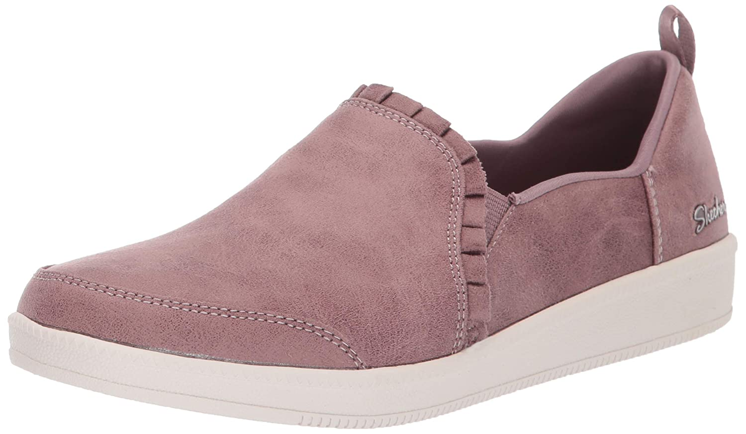 Mauve Skechers Womens Madison Ave - City Soul Fashion Sneakers