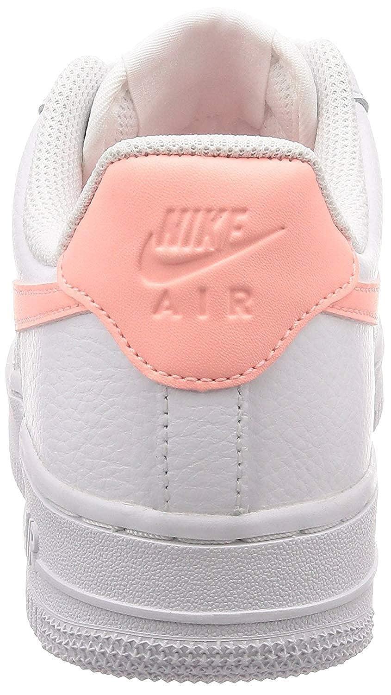 NIKE Damen WMNS 1 AIR Force 1 WMNS 07 Sneaker, Weiß Weiß-oracle Pink-Weiß (Ah0287-102) 6842ce
