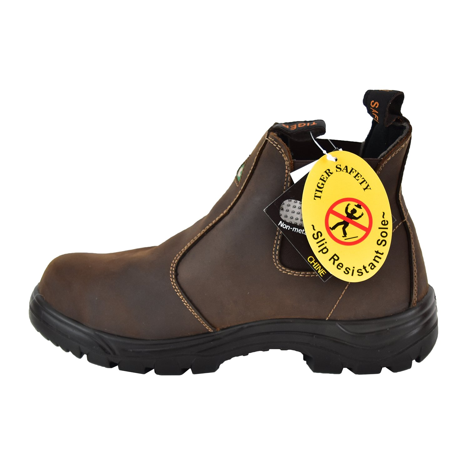 Tiger Safety Safety Men's Lightweight CSA Leather Work Safety Tiger Boots - 5925 B07BCL77K5 Fire & Safety d06551