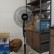 Orbegozo SF 0148 Ventilador de pie oscilante, 3 niveles de ...