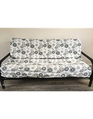 b48060e65b OctoRose Full Size Bonded Classic Soft Micro Suede Futon Cover Sofa Bed  Mattress Cover
