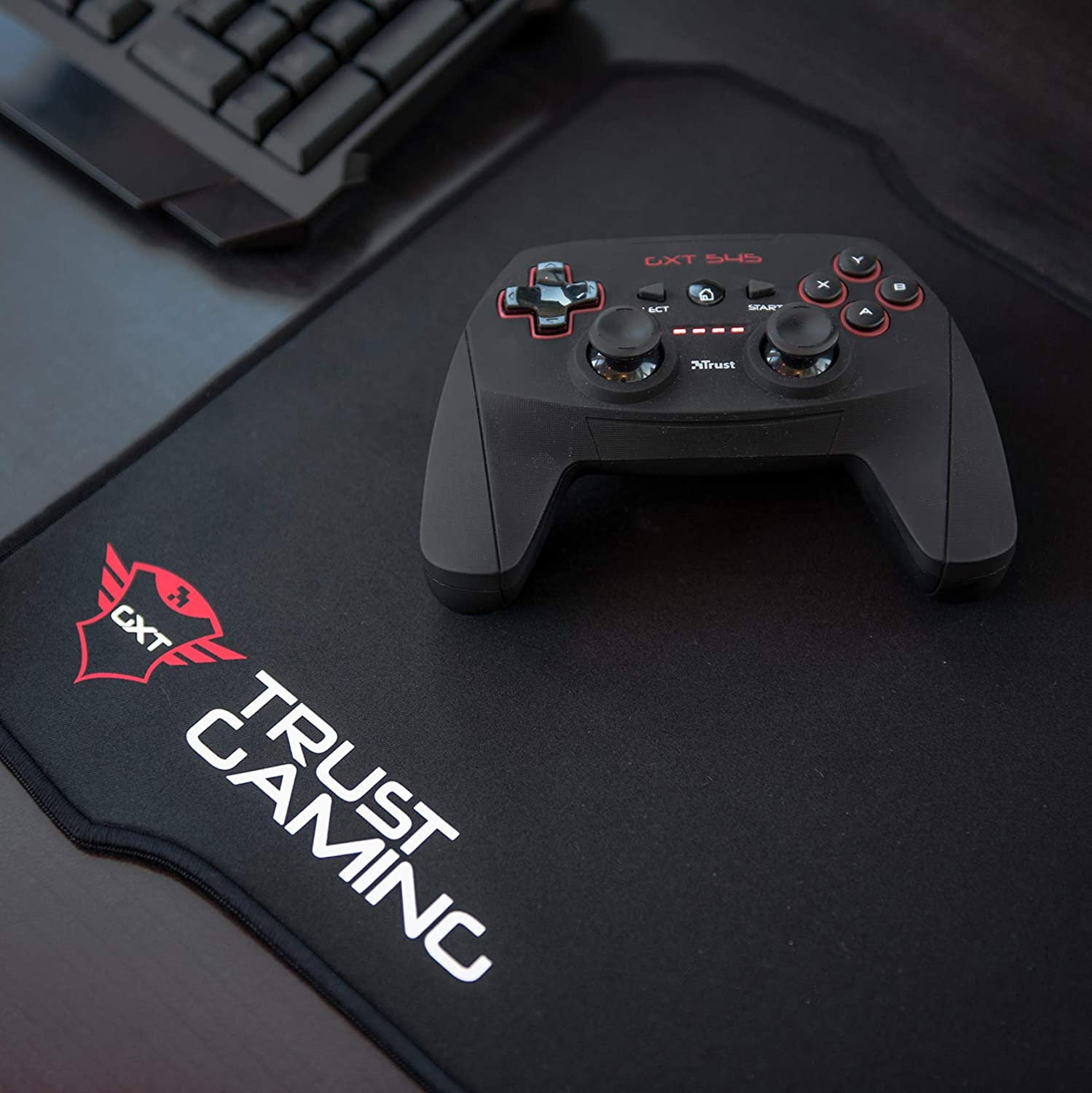 Trust Gxt 207 Xxl Gaming Mouse Pad 395 X 315 Mm Computers Accessories