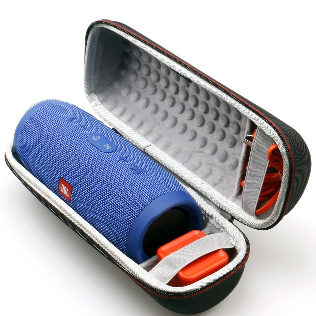Jbl Charge 3 Jblcharge3blkam Waterproof Portable Bluetooth Speaker Review Lg Bluetooth Fh2 Bluetooth Enabled Keyboard And Mouse Jabra Bluetooth Volume Control: LTGEM Case For JBL Charge 3 Waterproof Portable Wireless