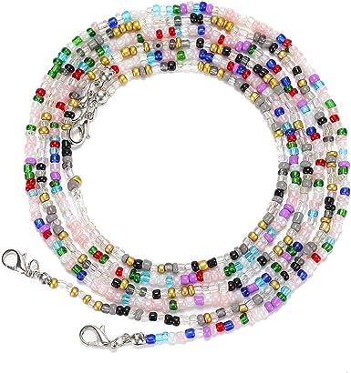 Mystery Glass Bead Mask Chain or Lanyard