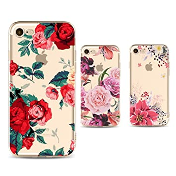 coque fleuri iphone 8 plus