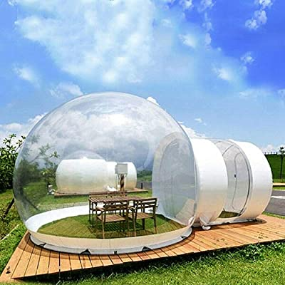 TFCFL Inflatable Bubble House Outdoor Inflatable Eco Home Tent House Luxury Dome Camping Party Air Bubble USA : Garden & Outdoor