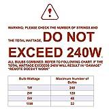 Keymit 240W Outdoor Dimmer Switch - String Light