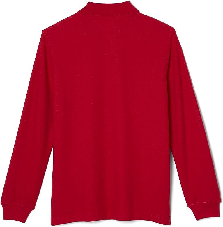 Burgundy French Toast School Uniform Boys Anti-Pill V-Neck Cardigan Sweater Large 10//12