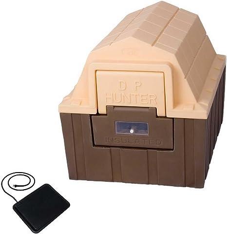 Amazon Com New Heated Doghouse Outdoor Insulated Medium Dog