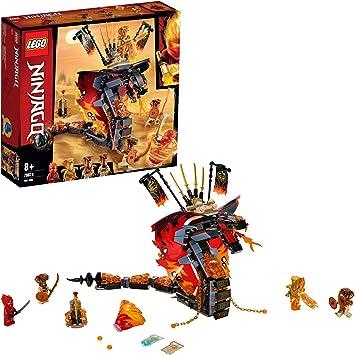 Comprar LEGO Ninjago - Colmillo de Fuego Set de construcción de Aventuras Ninja, incluye Minifiguras de Guerreros y una Serpiente Escupefuego, Novedad 2019 (70674) , color/modelo surtido