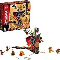 Lego 6250877 Ninjago Lego Ninjago Vuurtand - 70674, Multicolor