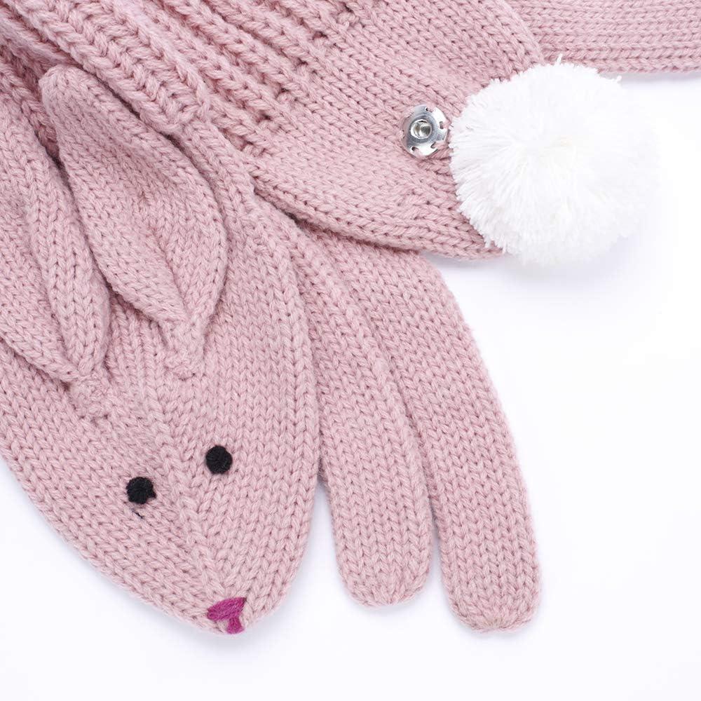 Cozy Soft Bunny Scarf