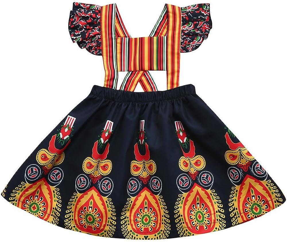 Jaysis Vestidos Sin Mangas con Estampado étnico de Flores ...