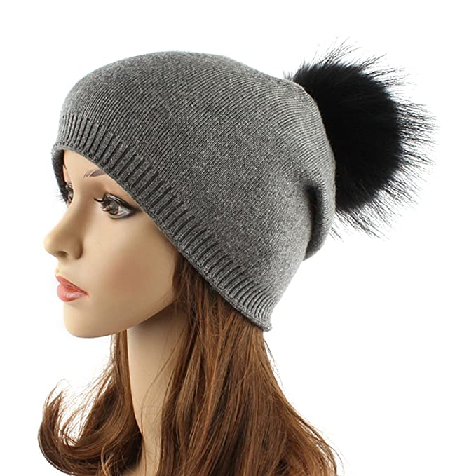 062d4133a49a3 Image Unavailable. Image not available for. Color  Tinksky Women Winter  Hats Fashionable Knit Beanie Cap Hat Warm ...