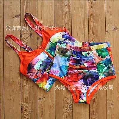 La manifestation de l'_ bikini confortable conservateur élégant disque split pack bikini moderne et confortable d'ajustement au design élégant