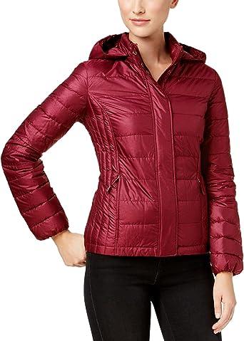 bra ut x billig webbutik Amazon.com: 32 DEGREES Women Down Jacket w/Detachable Hood ...