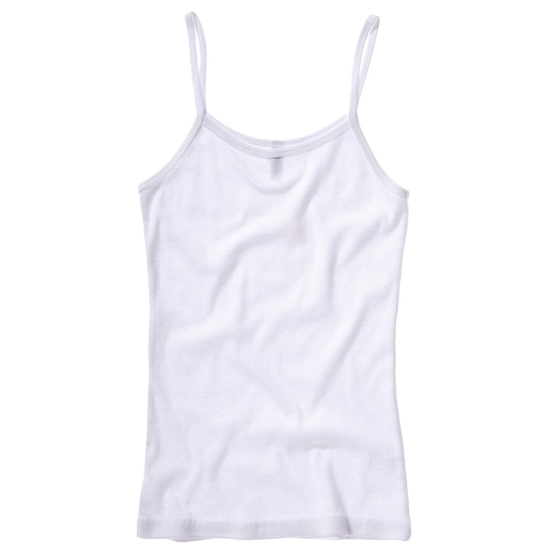 Bella + Canvas Womens/Ladies Baby Rib Spaghetti Strap Tank Vest Top:  Amazon.co.uk: Clothing