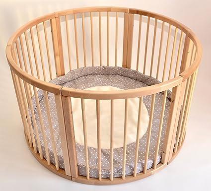 gỗ cứng tròn có đệm Ø 120 cm cho trẻ em