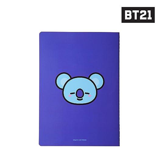 Amazon.com: BT21 Koya Nota A5, Blanco S: Office Products